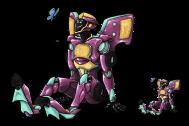 Overlay Style -- Robot OC
