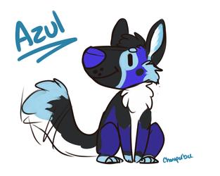 Derp Doodle: Azul