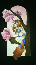 Sitting on a tree~