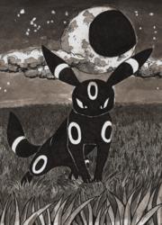 Inktober-Moonlit