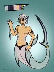 Thresher Shark Art Trade