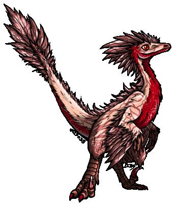 pink raptor adopt