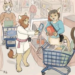 Chakona - Food shopping