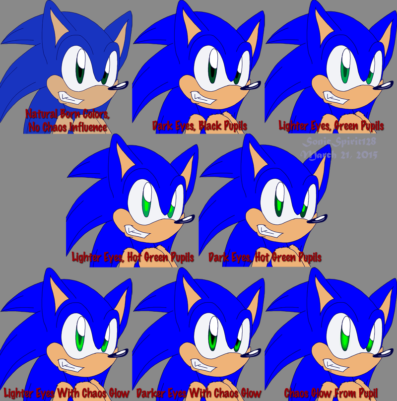 Sonic Color Test