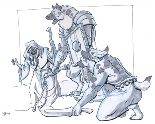 Gnoll personalities