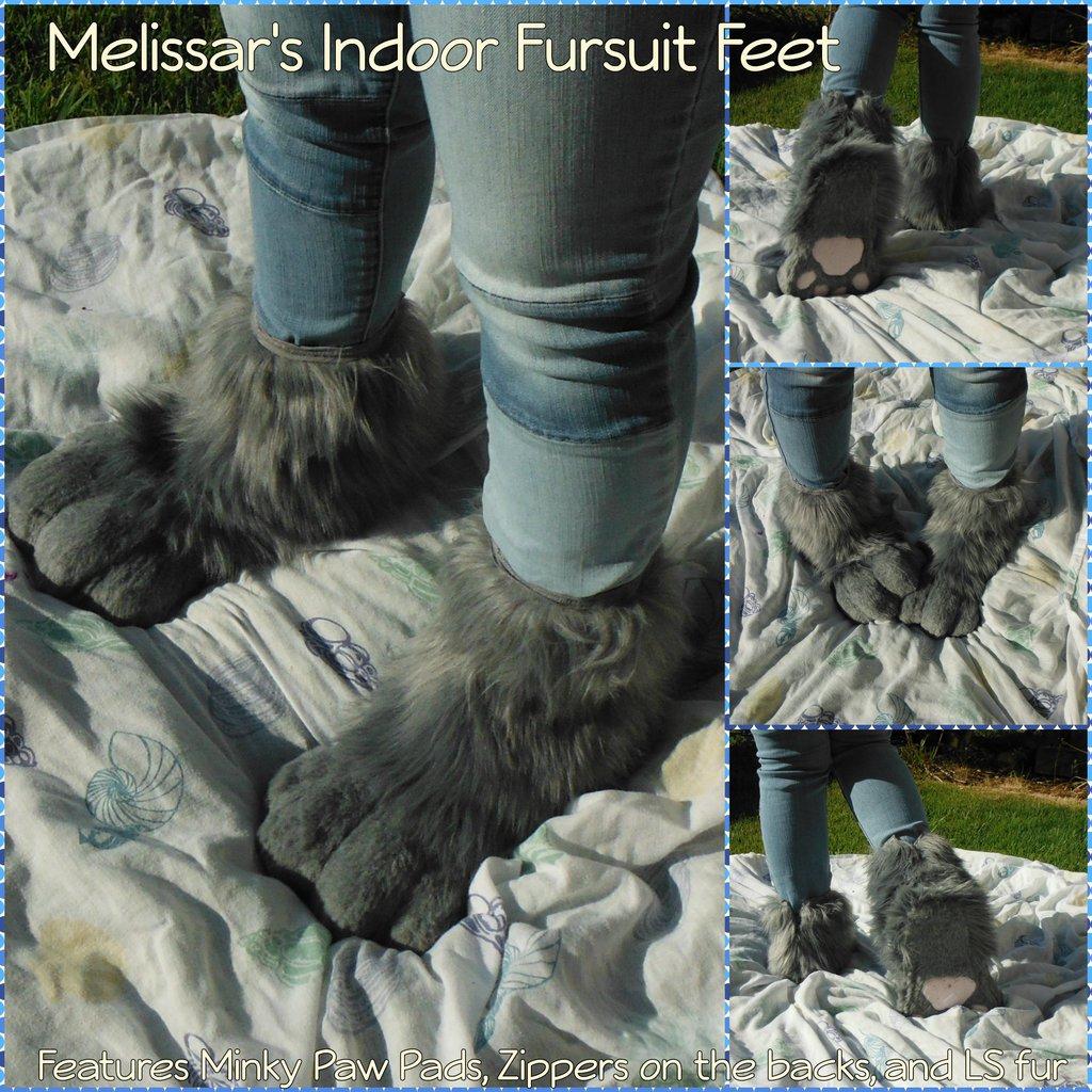 [C] Melissar1's Indoor Fursuit feet