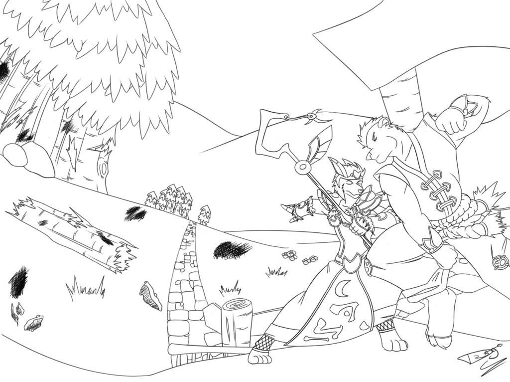 Worgen vs. Pandaren...Who will win?