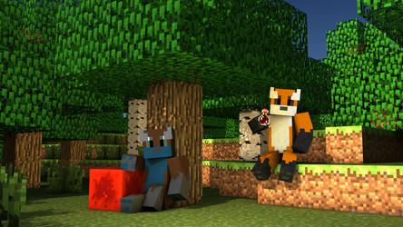 Minecraft Foxes