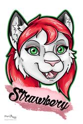 Strawbery Badge