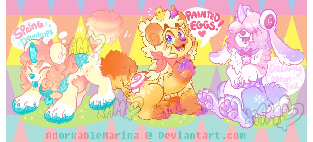 SPECIAL EVENT! Easter DandyLyon pups batch Auction! [CLOSED]
