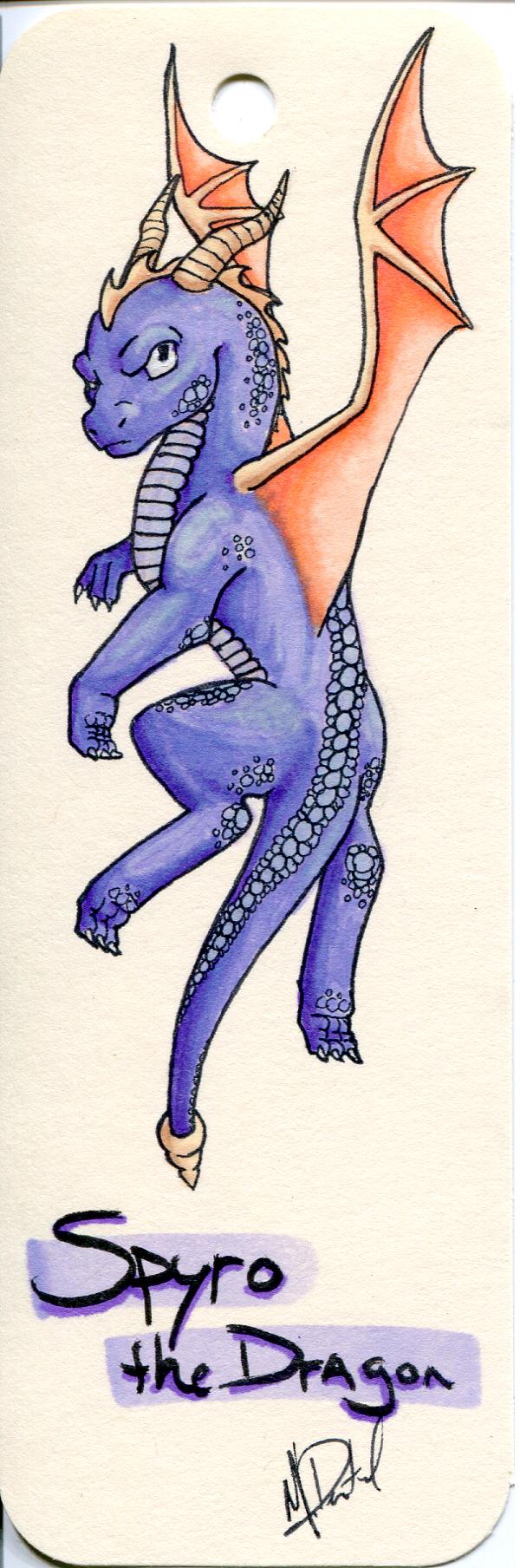 Most recent image: Bookmark Spyro