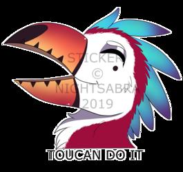 [P]Toucan Do It