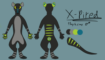 X-pired ref sheet