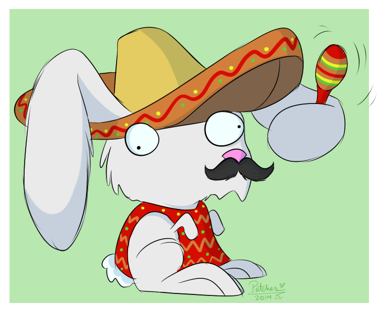Spud the Guacamelee Bunny