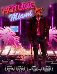 Hotline Miami - Fan Art Poster