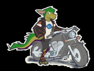 Reaper - Chopper Bike