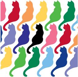 Small Kitty Vinyl Decal
