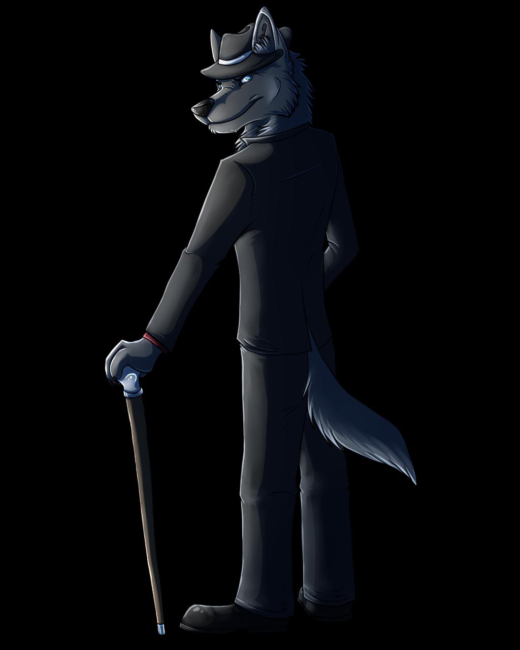 Literarywolf commission 2