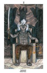 Keyush: Tarot: Justice