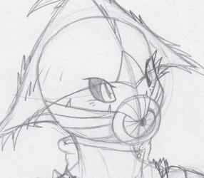 Pokemon RP Stuff - New Romero artwork (Sketch)