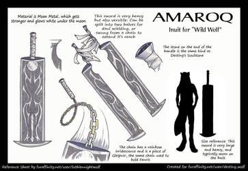 Amaroq weapon-sheet