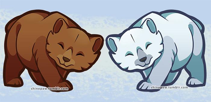 Chibi bears