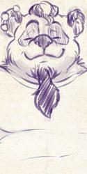 Sketch Stream Commission: Guythreepwood