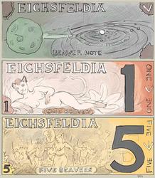 Eichsfeldian banknotes