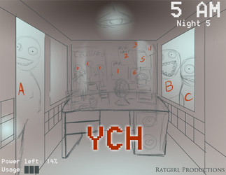 Five Nights YCH SALE! Slots open for 1 WEEK ONLY!