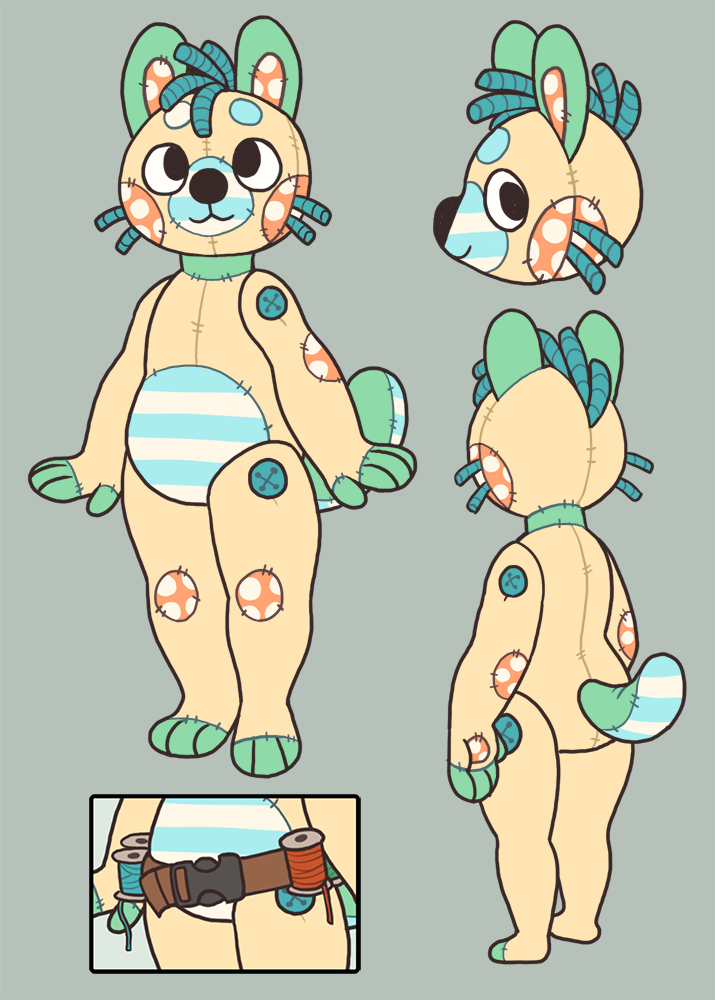 Spool the Plushie Pup