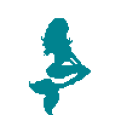 Pixel Mermaid