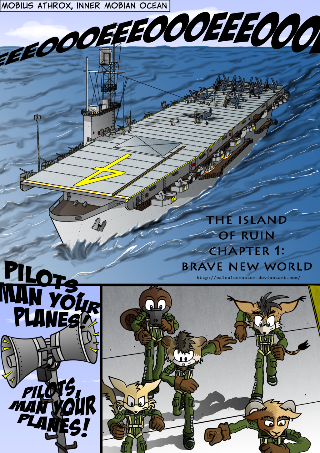 The Island of Ruin - Page 14