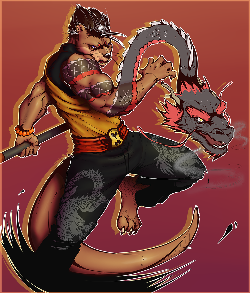 Otter With the Dragon Tattoo
