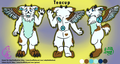 TEACUP: Collab Ref. Sheet with GeeSee