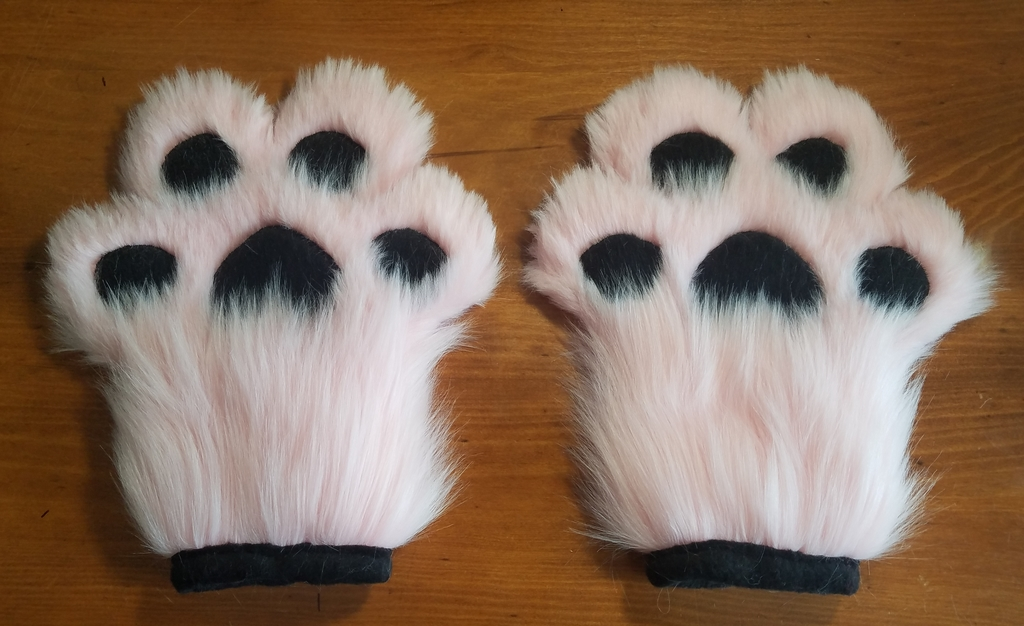 Pink Toony Paws (Front)