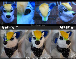 Rorie: Fursuit Head Refurbishment