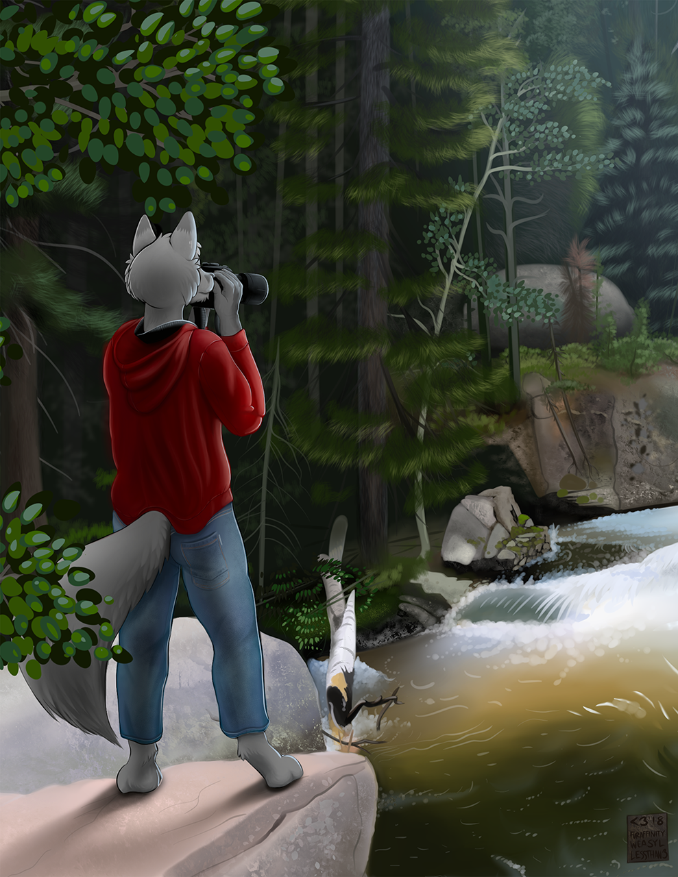 Most recent image: Nature Hike (Artist Choice Commission - Painted - Cropped)