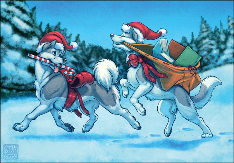 Sofawolf Holiday Card