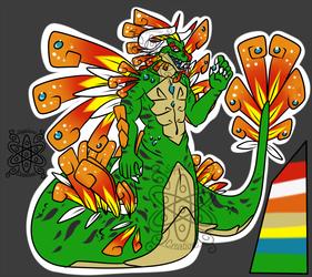 Aztec Dragon Naga +Design+ (SOLD)