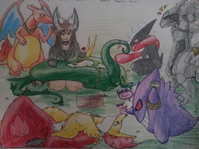 Most recent image: koikies pokemon team