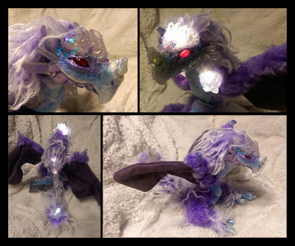 5/5 Crystal Dragon by Eviecats