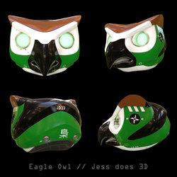 Eagle Owl Concept Helmet