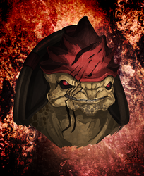 I AM URDNOT WREX AND THIS IS MY PLANET