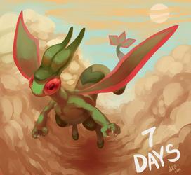 ORAS countdown-Flygon