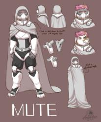 Mute Character Design