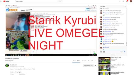 Fursuit Starrik LIVE Omegel NIGHT