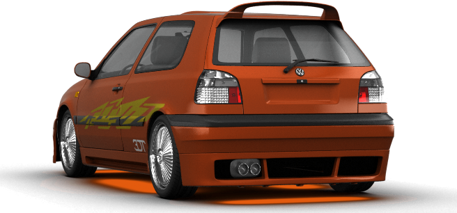 Volkswagen golf shot 3