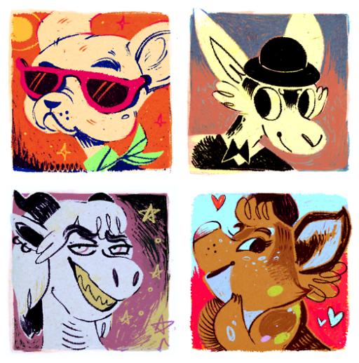 Commission: Vintage Icons III