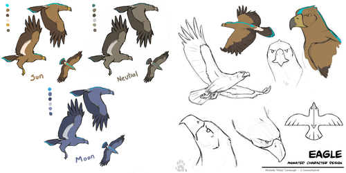 Zuni Eagle -Character Design