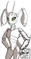 MonsterGirlTober: Bug Girl